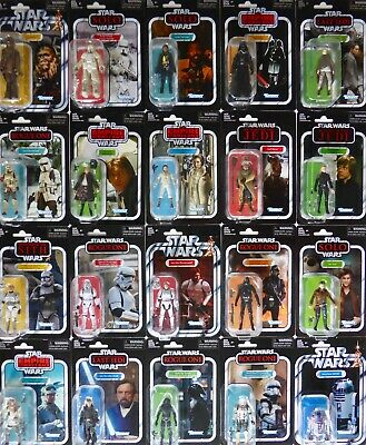 Star Wars New Non Mint Packaging Black Series Vintage Collection Tvc Figures Moc • 19.99£