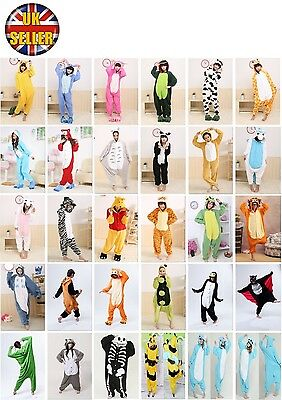 Halloween Unisex Onesiee Kigurumi Fancy Dress Costume Hoodies Pajamas Sleep Wear • 13.99£