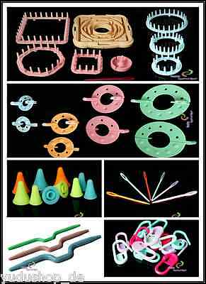 £3.17 • Buy Zopfnadel Wool Needles Stitch Stopper Markers Pompon Embroidery Ring Accessory