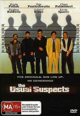AU9.95 • Buy The Usual Suspects - Kevin Spacey Gabriel Byrne Drama New Dvd Movie Sealed
