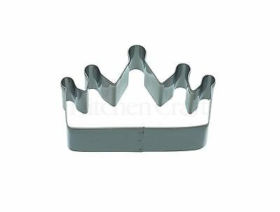 £3.70 • Buy Kitchencraft Fairy Princess Crown Shape Metal Biscuit/Cookie Cutter Home Baking