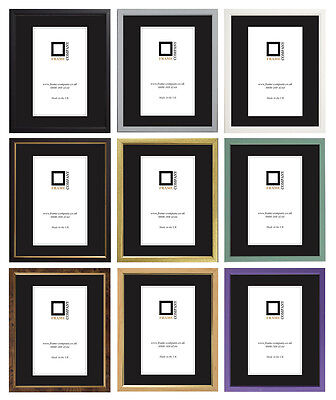 £7.09 • Buy Picture Photo Frames Fitted With Glass Choice Of 11 Colours By Frame Company