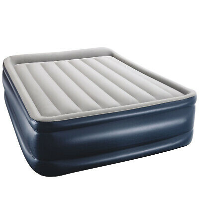 AU74 • Buy Bestway Premium QUEEN AIR BED Inflatable Mattress Built-in Electric Pump Camping