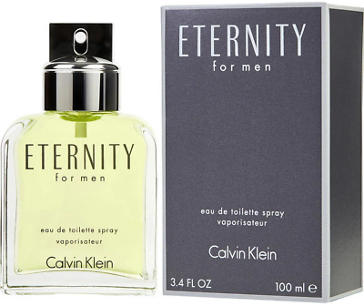View Details ETERNITY By CALVIN KLEIN For Men EDT 3.3 / 3.4 Oz New In Box • 21.20$