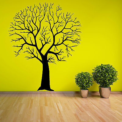 TREE WITHOUT LEAVES Vinyl Wall Art Sticker FAST DISPATCH UK TOP SELLER • 9.99£