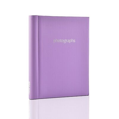 £9.49 • Buy Purple Large Self Adhesive Photo Albums 20 Sheets 40 Sides For Gift -  SM40PE