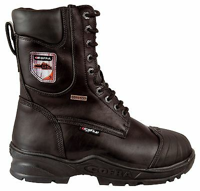 Cofra Energy Chainsaw Goretex Leather Boots - EN381 Class 3  Water Resistant • 119.99£