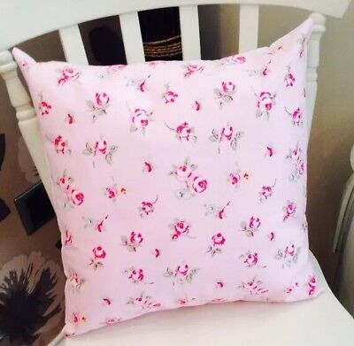 £6.50 • Buy Pink Rosebud Clarke And Clarke Shabby Chic Vintage 16  Cushion Cover