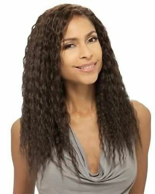 $19.45 • Buy Natural Super Weave 14  Que By Milkyway 100% Human Hair Mastermix Wet & Wavy
