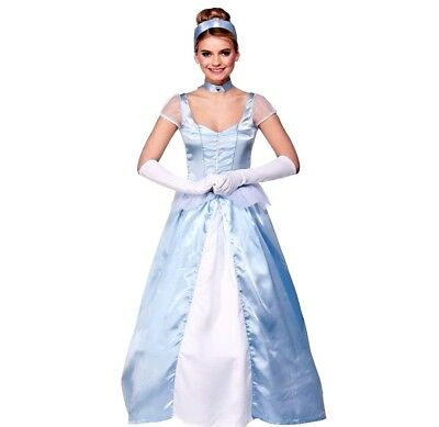 Ladies SWEET CINDERS CINDERELLA Fancy Dress Fairy Tale Book Week Costume UK 6-20 • 7.95£
