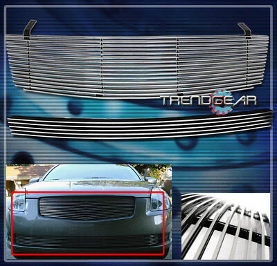 $69.95 • Buy Front Main Upper + Bumper Billet Grille For 2004 2005 2006 Maxima Horizontal Bar