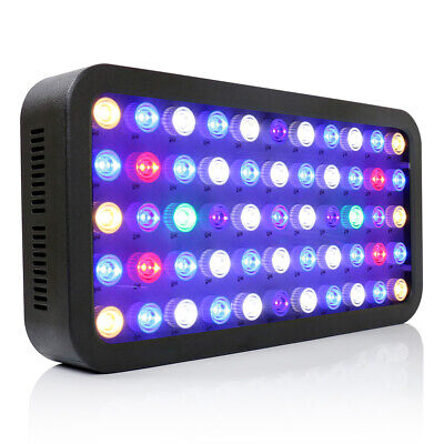 $ CDN153.50 • Buy Dimmable 165W Full Spectrum LED Aquarium Light For Freshwater Reef Coral LPS/SPS