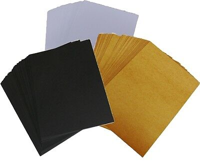 £3.95 • Buy 50 X A6, A5 Or 5x7inch Card, Choose White, Kraft Or Black. Blank Post Card Stock