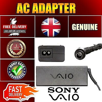 Sony 19.5v 4.7a VGP-AC19V33 VPCF118FJW VPCF119FC 90w Charger Adapter • 111.15£