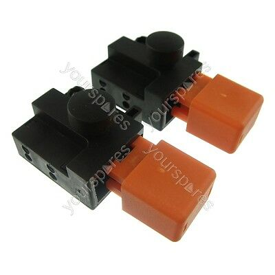 Ufixt® 2 X Flymo Vision Compact 330 VC330 (9633306-01) Lawnmower Switch 8A  • 12£