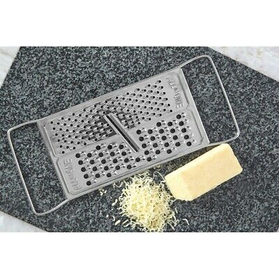 Stainless Steel All In One Cheese Grater Hand Lemon Zester Carrot Kitchen Bygone • 2.99£
