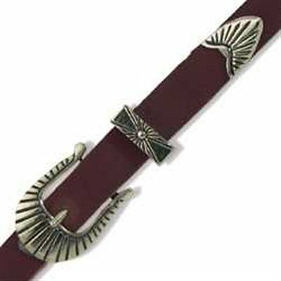 $5.35 • Buy Southwest Hatband Buckle Set 3/8  Tandy Leather 1695-00