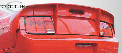 $312 • Buy Couture Urethane Demon Wing Trunk Lid Spoiler 3 Piece For Mustang Ford 05-0