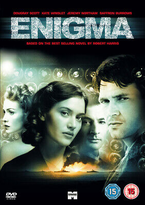 Enigma DVD (2007) Dougray Scott, Apted (DIR) Cert 15 FREE Shipping, Save £s • 2.07£