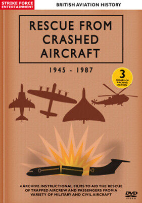 £2.54 • Buy British Aviation History: Rescue From Crashed Aircraft 1945-1987 DVD (2012)