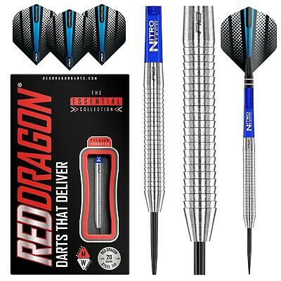 Tungsten Darts Set 20g,21g,23g,24grams,26g,28g,29g,30g,33g Razor Edge Steeltip • 24.95£