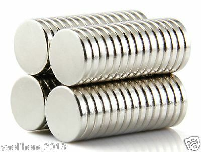 AU10.31 • Buy 50PCS N52 Super Strong Round Disc Magnets 12mm X 2mm Rare Earth Neodymium Magnet