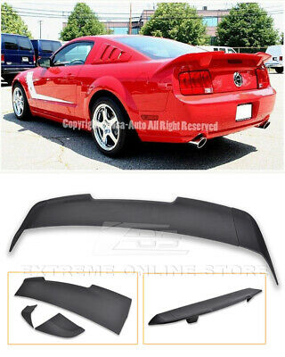 $2159.99 • Buy For 05-09 Ford Mustang EOS R Style Primer Black Rear Trunk Spoiler Lid Wing Lip