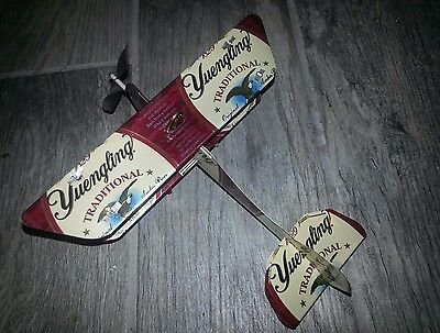 $35.99 • Buy YUENGLING LAGER Can Plane Airplane Made From REAL Cans