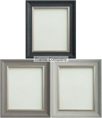 £12.06 • Buy Frame Company Drummond Range Choice Of Grey And Silver Picture Frame Photo Frame