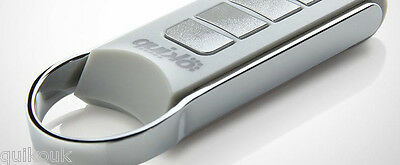 £26 • Buy QUIKO  LUXURY  METAL 4 Button REMOTE FOR ALL QUIKO GATE OPENERS