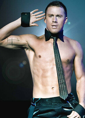 A3 Channing Tatum Ct3 Poster Art Print Buy2get1free! White House Down/magic Mike • 4.99£