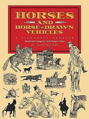 AU6.55 • Buy Dover Pictorial Archive Ser.: Horses And Horse-Drawn Vehicles : A Pictorial...