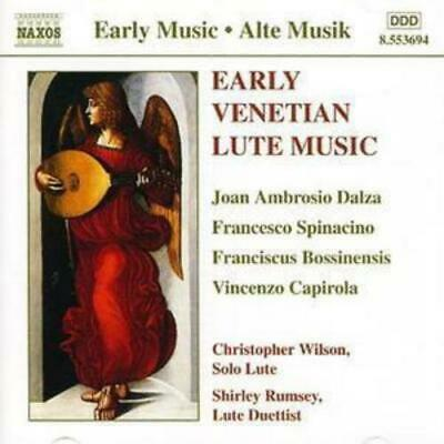 Various Composers : Early Venetian Lute Music CD (1999) ***NEW*** Amazing Value • 8.58£