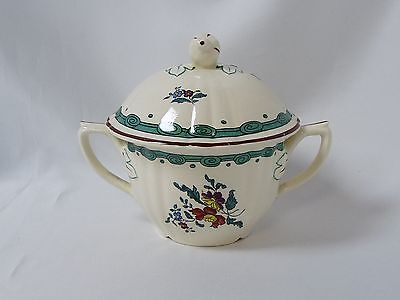 $ CDN44.96 • Buy Diamondstone Laveno Italy Amelie Pattern Sugar Bowl & Lid