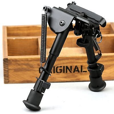 £12.49 • Buy 6 -9  Adjustable Bipod Legs Sling Swivel Mount For Sniper Airsoft Rifle Hunting
