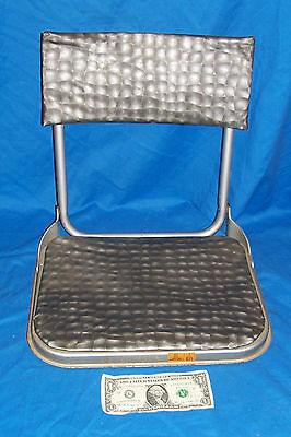 $ CDN26.22 • Buy Vintage Folding Boat Seat Old Boating Accessory Seating Stowaway Kid's Extra
