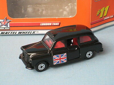 £14.99 • Buy Matchbox FX4R London Taxi With Flag On Both Sides Toy Model Car Boxed