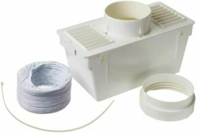 £8.45 • Buy Universal Tumble Dryer Indoor Internal Condenser Vent Hose Kit Easy To Assemble