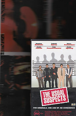 AU36 • Buy THE USUAL SUSPECTS KEVIN SPACEY VHS VIDEO TAPE (new And Sealed)