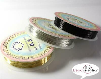 £2.49 • Buy Copper Wire, Tiara Jewellery Making, Beading, Wrapping, 0.2mm-1mm Colour Choice