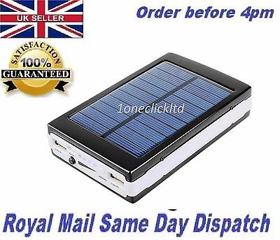£17.95 • Buy 100000mAh Solar Battery Charger Power Bank For IPhone IPad Tablets Smart Phones