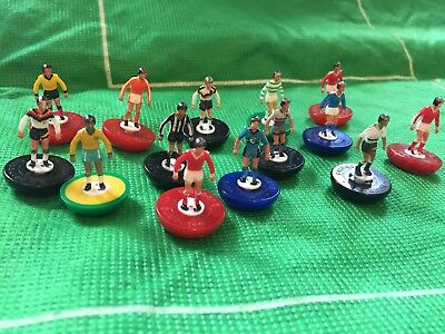 Football Cake Toppers / Decorations By Subbuteo - 5 X Players - Club Teams • 6.99£