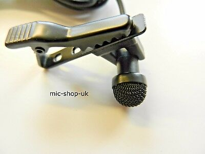 Omnidirectional Lapel Microphone Compatible Mic For Sony UTX UWP WRT Wireless  • 19.95£