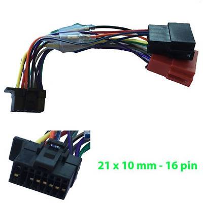 sony wiring harness on