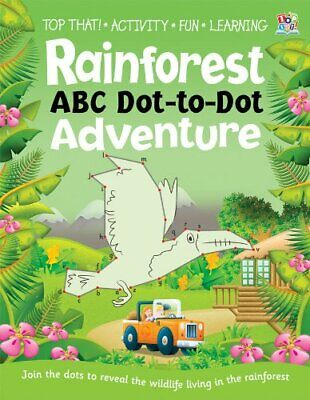 Dot To Dot Book (Rainforest ABC)  - New Paperback • 4.39£