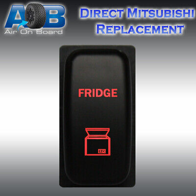 AU26 • Buy Mitsubishi Push Switch 140R 12V FRIDGE On-off LED Red EVO Challenger