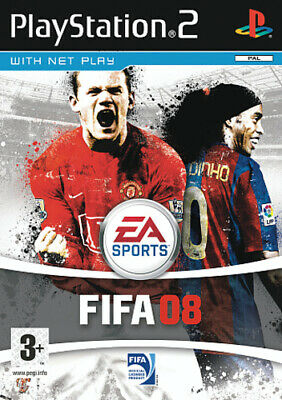 FIFA 08 (PS2) PEGI 3+ Sport: Football   Soccer Expertly Refurbished Product • 1.96£