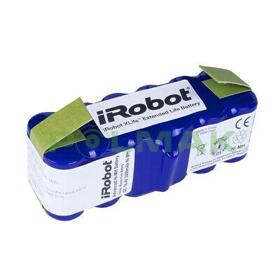 ORIGINAL XLife Extended Life Battery IRobot Roomba 500 600 700 800 & Scooba 450 • 81.99£