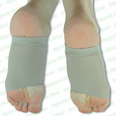 £2.95 • Buy Silicone Gel Fallen Arch Support Cushion Flat Feet Foot Care Pain Relief Pads