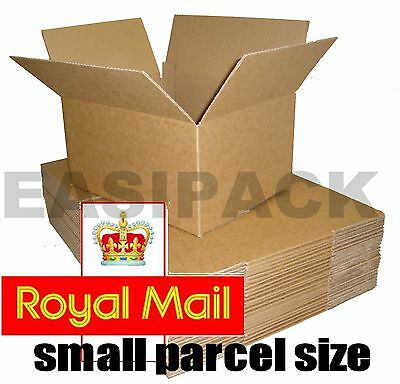 £5.50 • Buy Selection Of Royal Mail Small Parcel Size Postal Cardboard Boxes *all Sizes*